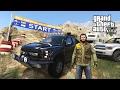 GTA 5 Real Life Mod #49 - 4X4 OFF-ROADING MOUNT CHILIAD PEAK CHALLENGE!! (GTA 5 Mods)