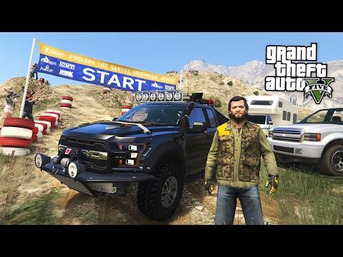 GTA 5 Real Life Mod #49 - 4X4 OFF-ROADING...