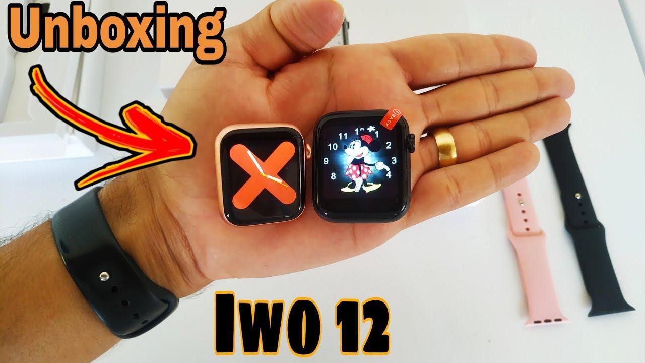 Unboxing Smartwatch iwo 12 | primeiras impressões | compras Aliexpress.