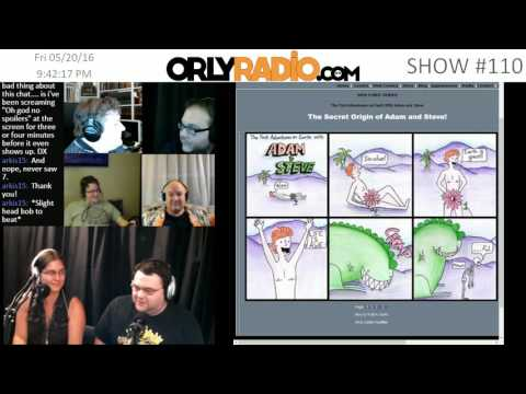 ORLY EP0110A - Interview with the creators of The First Adventures on Earth with Adam And Steve