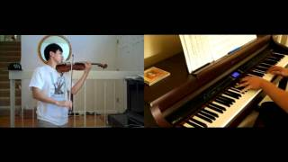 "Jay Chou - Secret ""Lu Xiao Yu"" Rain (violin, piano) FT. TheIshter"
