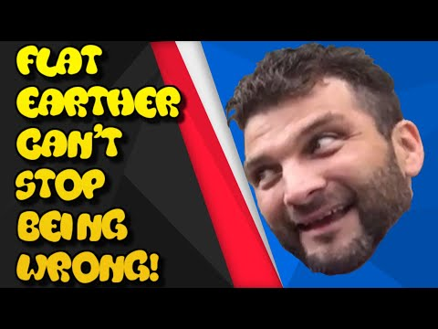 The Flat Earther who cant stop being wrong thumbnail