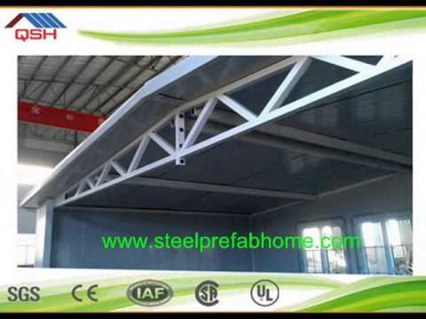 2015 Daquan fast building green prefab house in 5 days   EPS cement sandwich wall panel better than