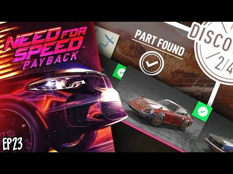 FINISHED EVERY DERELICT BUILD! (Need For Speed Payback #23)
