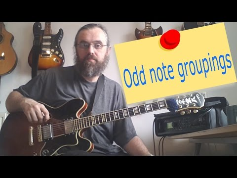 Making II V I lines with Odd Note Groupings
