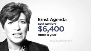 """AFSCME PEOPLE IE TV AD """"Seniors"""" US SENATE IA"""