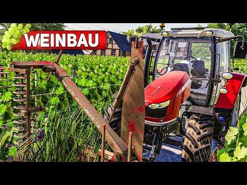 LS19 WEINBAU #1: Trauben Anbauen Für Guten WEIN Und Saft! | LANDWIRTSCHAFTS SIMULATOR 19