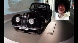 BMW à moteur à réaction d'avion crazy BMW
