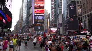 New York City - 5th Ave, New York Public Library, Times Square, Majestic Theatre, etc.