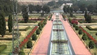 the beautiful brindavan garden at mysore