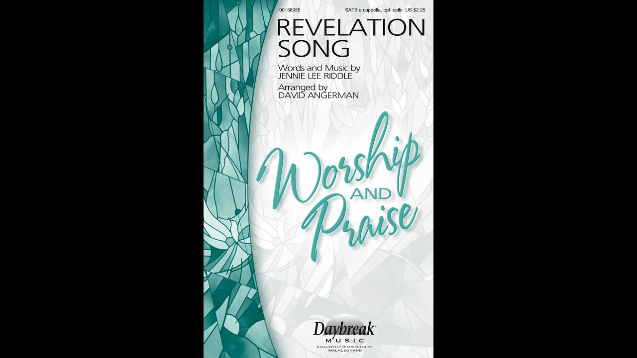 Revelation Song Sheet Music Forzanathandedecker