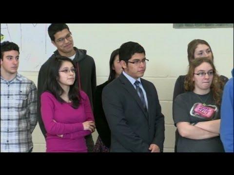More high school students get diplomas