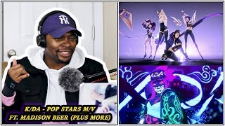 EXTRA SPICY!! K/DA - POP/STARS (ft Madison Beer, (G)I-DLE, Jaira Burns) M/V REACTION | Jamal_Haki