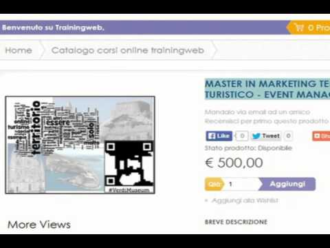 Master in Marketing Territoriale Turistico - Event Management