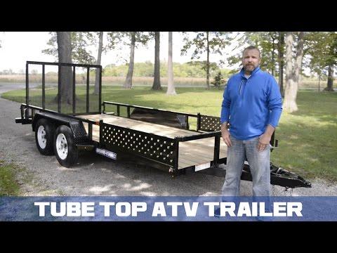 Sure-Trac Tube Top ATV Trailer
