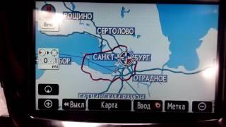 Lexus 570 (2009-2012) USA (HDD) - русификация,карты 2017 года c номерами домов, радио