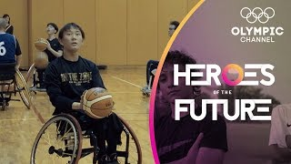Japanese Wheelchair Basketball Teen Aiming at Tokyo 2020 Paralympics | Heroes of the Future