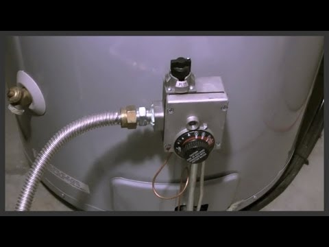 How to clean the sediment from a water heater