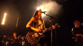 The Laura Cox Band Hard Blues Shot Live @ La Batterie Guyancourt 2016
