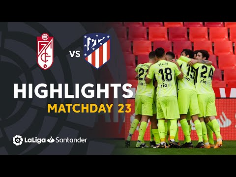 Granada Atletico Madrid Goals And Highlights