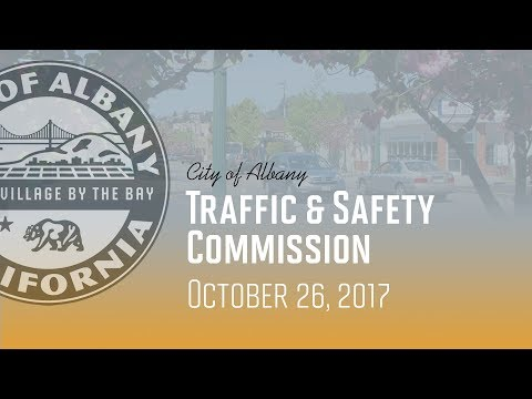 Traffic & Safety Commission - Oct. 26, 2017