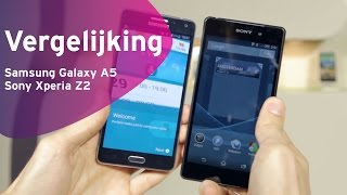 samsung galaxy a5 vs sony xperia z2 review dutch
