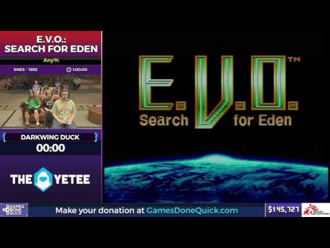 E.V.O.: Search for Eden by Darkwing Duck in 51:06 - SGDQ2017 - Part 17
