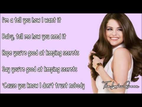 Cashmere Cat ft. Selena Gomez & Tory Lanez - Trust Nobody [Lyrics] HD
