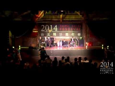2014 Taipei Salsa Festival @ Opening Reception with Latin Jazz Band