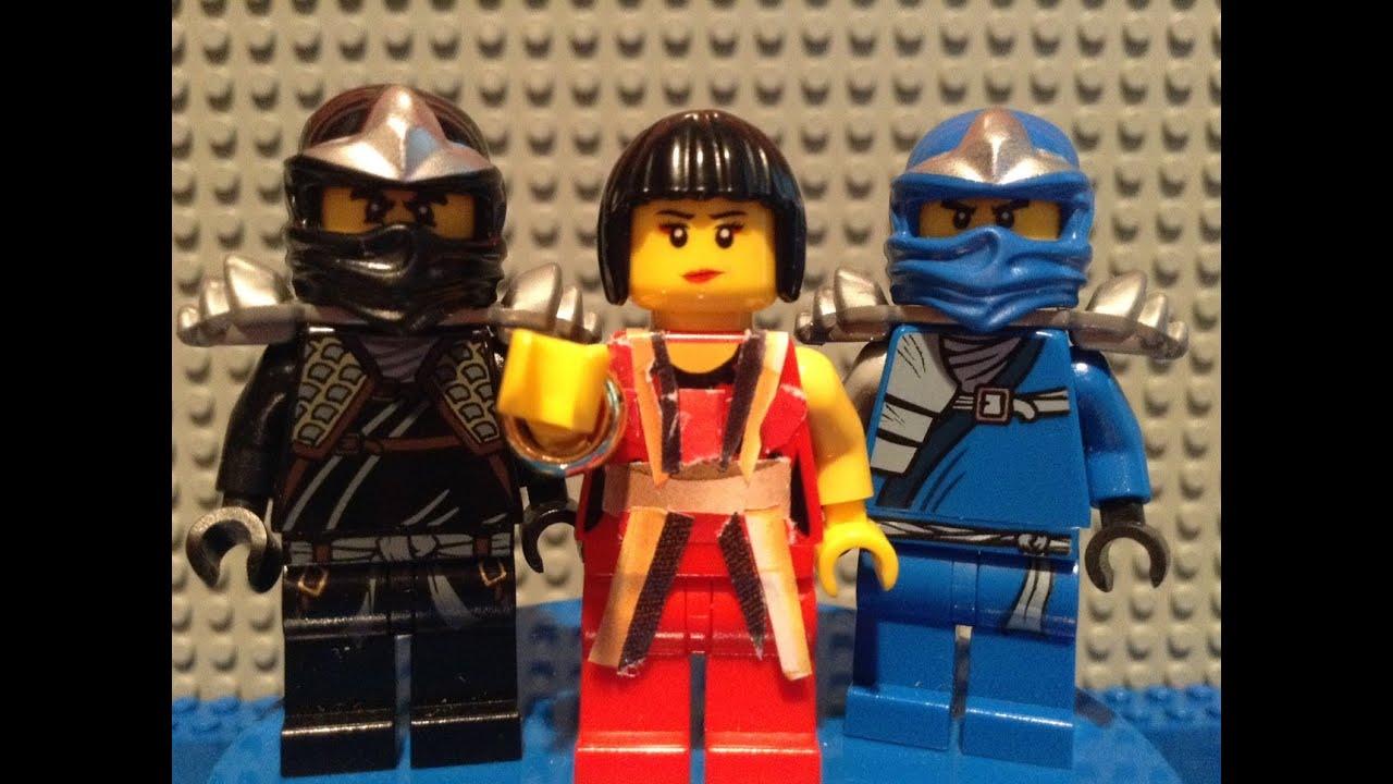 lego ninjago rebooted 2014 custom nya minifigure youtube