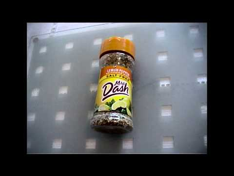 Mrs Dash Lemon Pepper Seasoning Unboxing