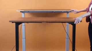 Uprise Standing Desk Speed Test