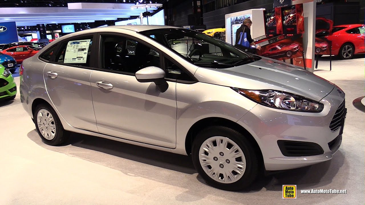 2015 ford fiesta sedan exterior and interior walkaround 2015 chicago auto show