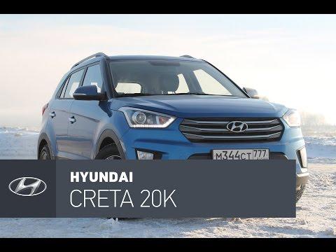 Hyundai Creta 2.0 AT 4WD после 20000км. Еще свежая или уже нет