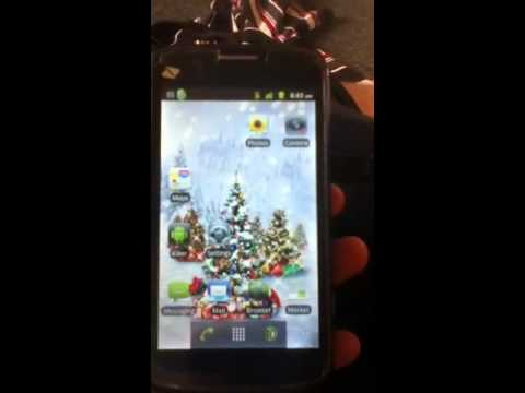 Zte Warp boost mobile live wallpaper - YouTube