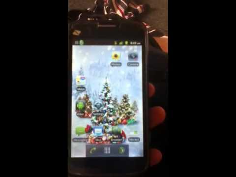 Zte Warp boost mobile live wallpaper - YouTube