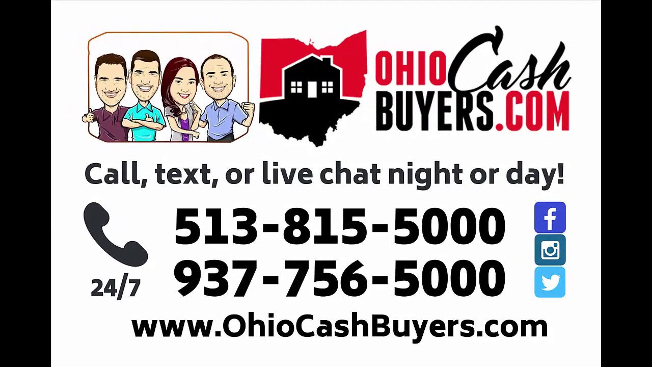 Ohio Cash Buyers | Real People | Real Cash Offers - Sell Your House Fast!