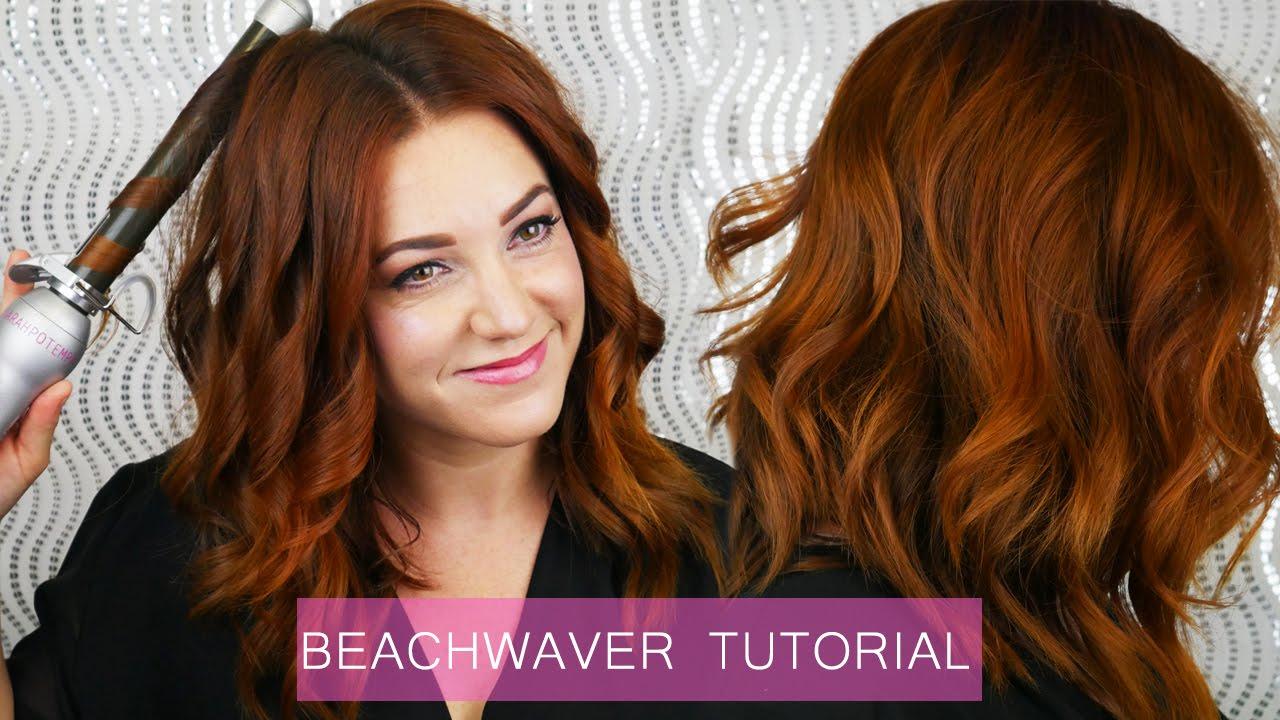 Beachwaver Tutorial Youtube