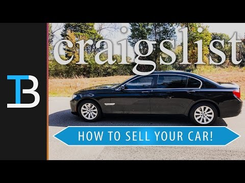 How To Sell A Car On Craigslist (Sell Your Car On Craigslist!)