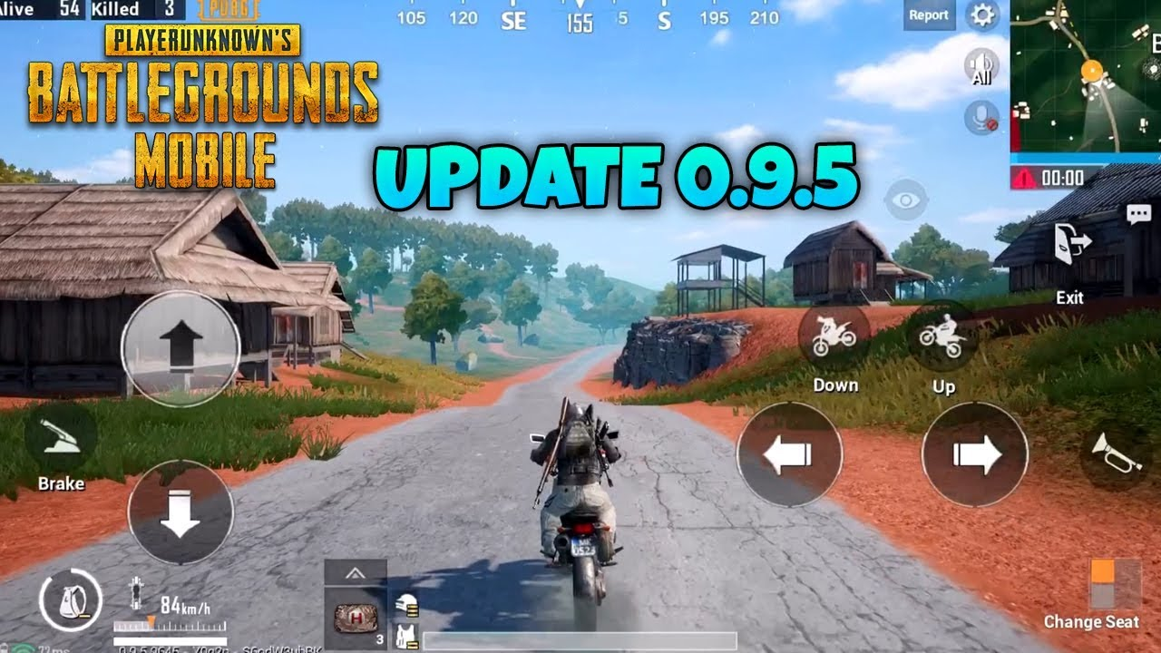 Download Pubg Mobile 0 8 0 Global Update For Android Ios: 0.9.5 UPDATE GAMEPLAY ( IOS / ANDROID