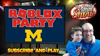 Live Thursday Roblox Party 🎉 Let's Go Michigan 〽️!!! 💛💙💛💙