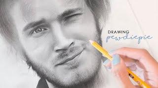 Drawing Felix Kjellberg (PewDiePie)