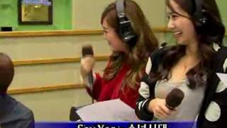 SNSD - Say Yes @ Kiss the radio Oct 21, 2011 GIRLS' GENERATION Live