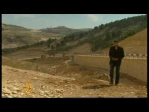 Israeli settlement building threat in West Bank - 26 Mar 09
