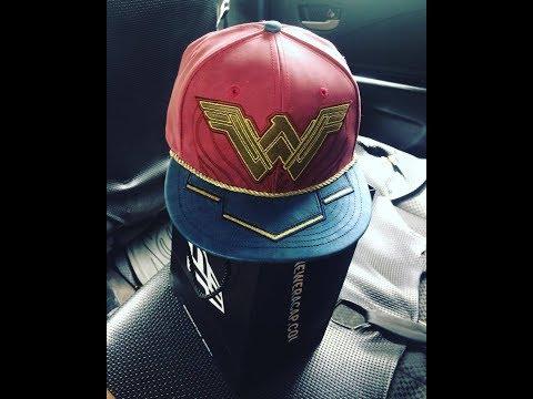 VLOG #10 Wonder Woman Cap Review
