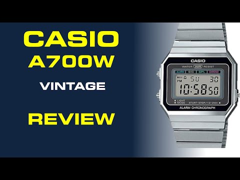 Casio Vintage Collection A700W Review