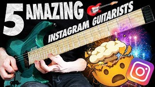 5 Amazing Instagram Guitarists That Will BLOW YOUR MIND!
