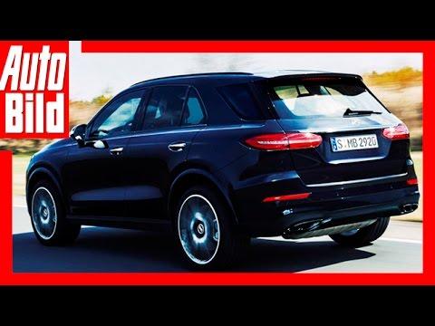 Zukunftsaussicht: Mercedes GLE (2018) - Luxus-SUV von Mercedes - Werkscode: W167