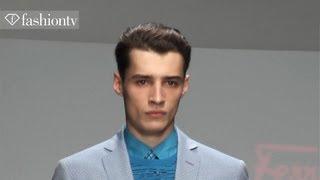 Salvatore Ferragamo Men Backstage ft Adrien Sahores, Clement Chabernaud | Spring 2013 | FashionTV