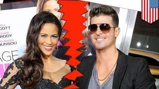 Robin Thicke and Paula Patton split: Black people rejoice